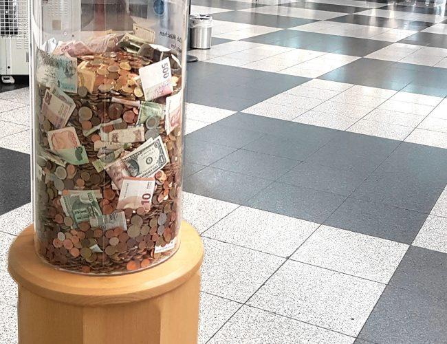 Spendenbox München Flughafen